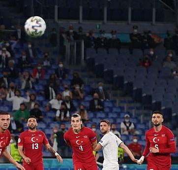 Milli Takımımız, İtalya'ya mağlup oldu
