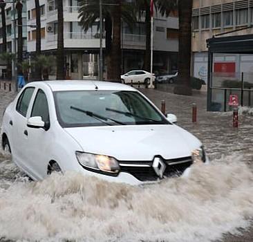 İzmir ve Aydın için şiddetli yağış uyarısı