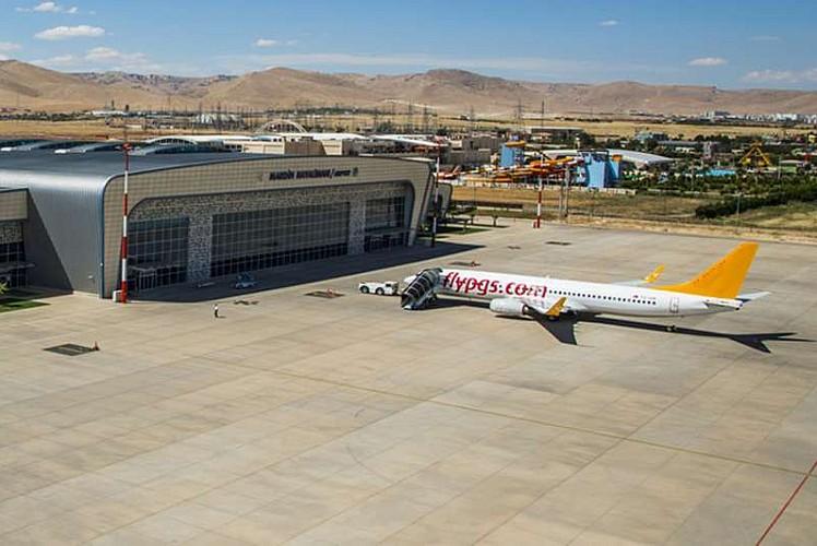 Mardin Havalimanında ulaşım ihalesi