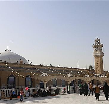 TİKA'dan Bağdat'taki Geylani Türbesi'ne özel örtü