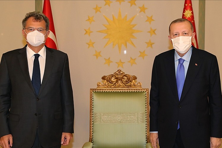 Erdoğan, TÜSİAD Başkanı Kaslowski'yi kabul etti