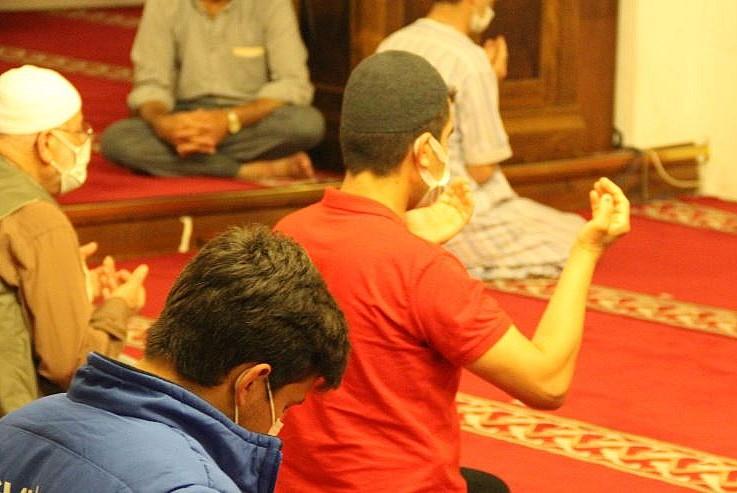 İstanbul'un fethi için Anadolu'nun ilk camisinde dua edildi