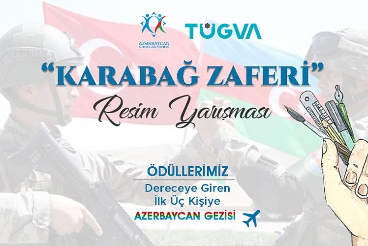 TÜGVA'dan anlamlı resim yarışması: Kazanan Azerbaycan'a gidecek