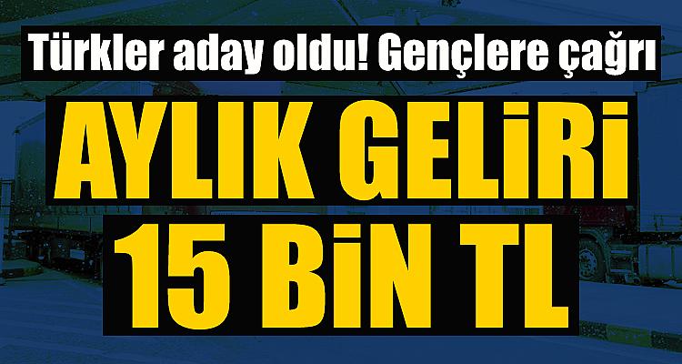 Kriz çözmek için Türkler aday oldu! Aylık geliri ise...