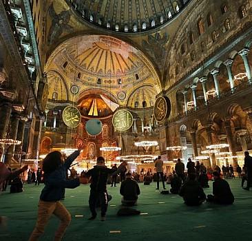Mi'raciye geleneği Ayasofya-i Kebir' de yaşatıldı
