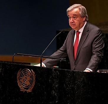 Guterres'ten küresel ateşkes çağrısı