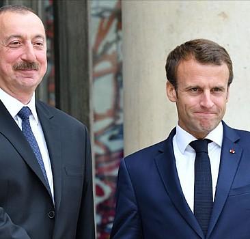 Macron ile Aliyev telefonda görüştü