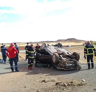 Yozgat'ta otomobil devrildi: 1 ölü, 3 yaralı