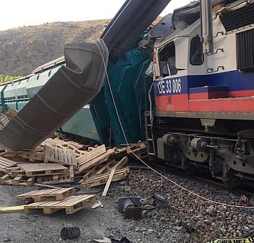 Yozgat'ta tren kazası!