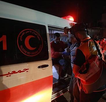Filistin Kızılayı: 139 kişi yaralandı