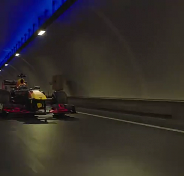 Avrasya Tüneli'nde Formula 1 rüzgarı