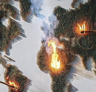 Ortalık yangın yeri
