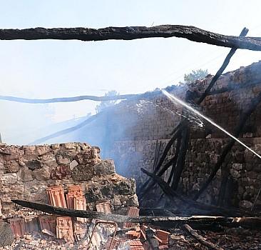 Samsun'da çıkan yangında bir kişi yaralandı