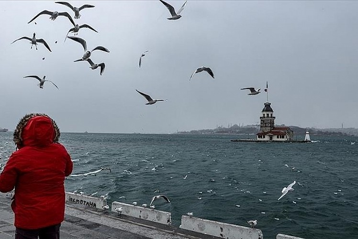 Marmara Bölgesi'nde aralıklı yağmur bekleniyor
