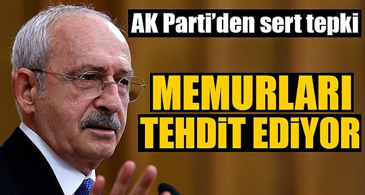 Ömer Çelik'ten Kılıçdaroğlu'na sert tepki