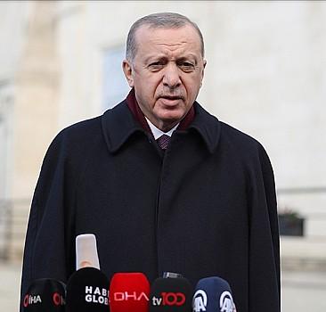 Başkan Erdoğan'dan Sözcü'nün skandal manşetine tepki