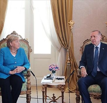 Erdoğan - Merkel görüşmesi sona erdi