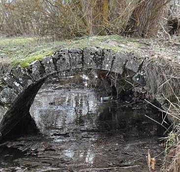 Dere ıslah çalışması sırasında tarih ortaya çıktı