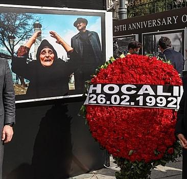 '29. Yılında Hocalı Soykırımı Fotoğraf Sergisi' açıldı