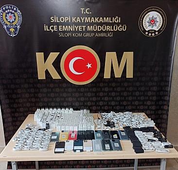 Şırnak'ta uyuşturucu ve kaçakçılık operasyonları