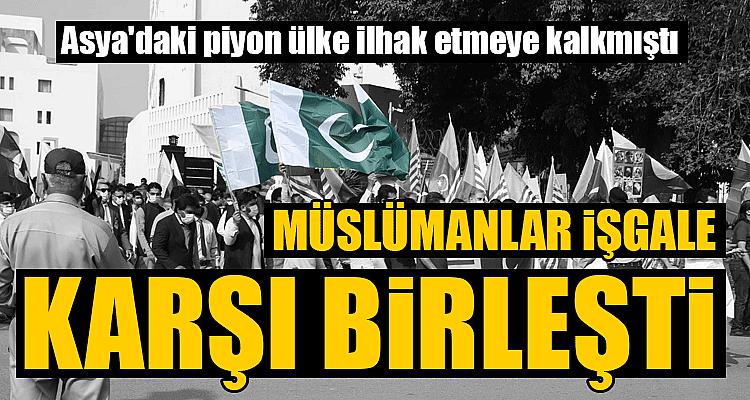 İslamabad'da halk Keşmir için toplandı