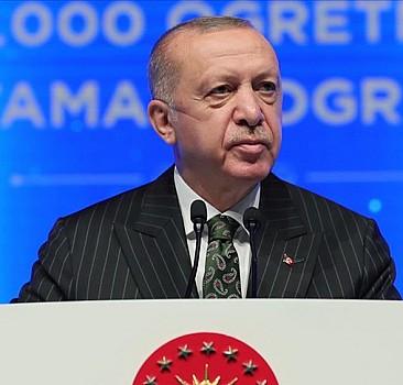Cumhurbaşkanı Erdoğan'dan yüz yüze eğitim mesajı