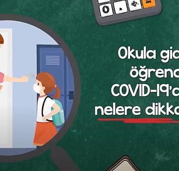 Okula giden öğrenciler, COVID-19'a karşı nelere dikkat etmeli?
