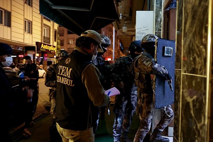 İstanbul'da terör örgütü PKK'ya bir darbe daha