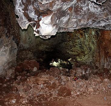 Yozgat'ta inşaat kazısında yeraltı mağarası bulundu