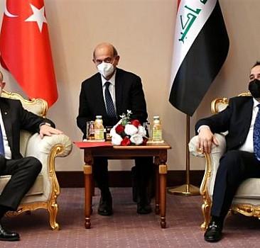 Bakan Muş'tan Erbil'de kritik görüşmeler