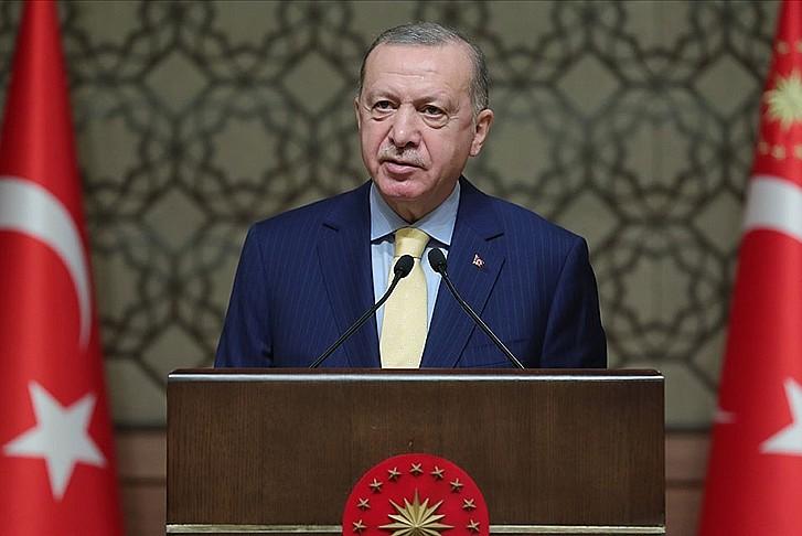 Başkan Erdoğan'dan 'kadınlar günü' mesajı