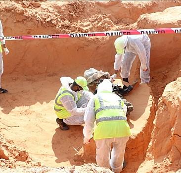 Terhune kentinde iki toplu mezar daha bulundu