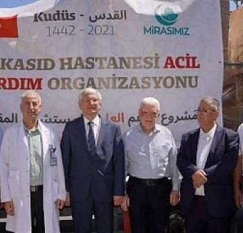 Türkiye'den Kudüs'e ilaç ve tıbbi yardım