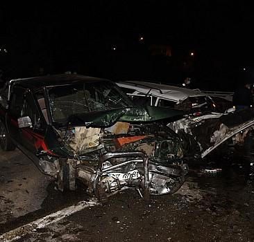 Giresun'da trafik kazası: 2 ölü 2 yaralı