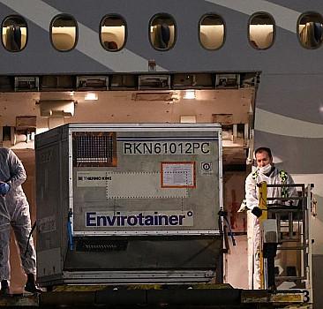 Bakanlık duyurdu! Uçak Türkiye'ye ulaştı