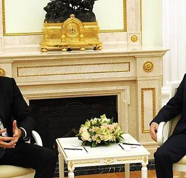 Aliyev ve Putin arasında görüşme