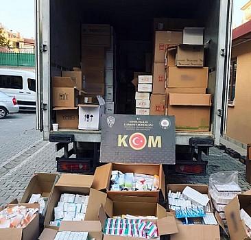 Konya'da 692 bin 476 kaçak tıbbi ilaç ele geçirildi