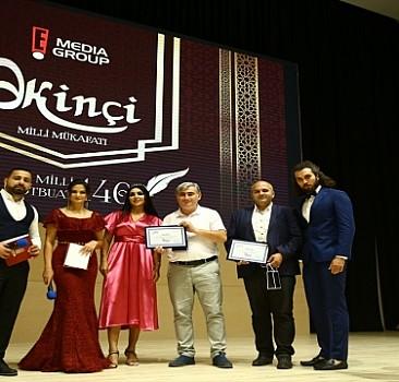 Azerbaycan'dan AA'ya ödül