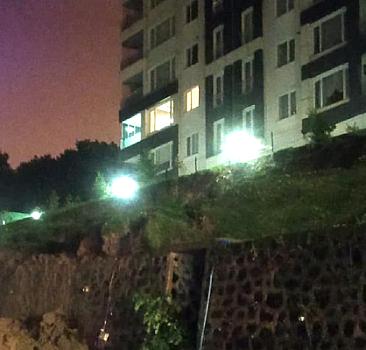 Ordu'da 36 daireli bina boşaltıldı