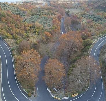 Tekirdağ'da sonbahara renk cümbüşü ile veda