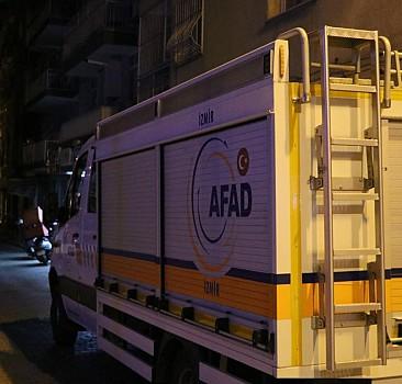 İzmir'de bir bina tahliye edildi