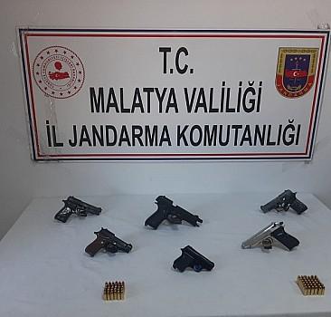 Malatya'da silah kaçakçılığı operasyonu: 2 gözaltı