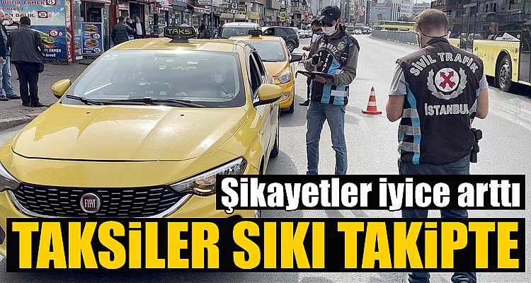 İstanbul'da taksi denetlemeleri arttı