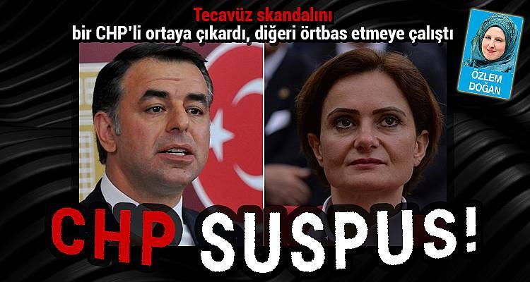 Tecavüz skandalını bir CHP'li ortaya çıkardı, diğeri örtbas etmeye çalıştı