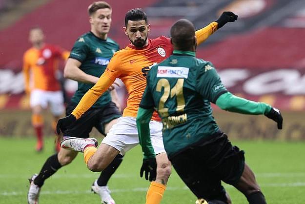 Galatasaray, Denizlispor'u gole boğdu!
