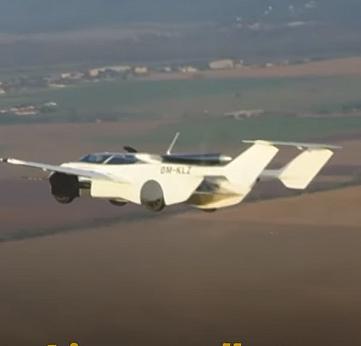 Uçan araba 'aircar' deneme uçuşunu başarıyla tamamladı