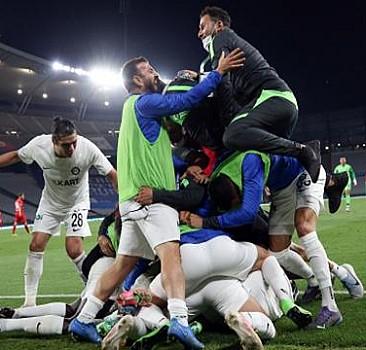 Süper Lig'in son bileti Altay'ın