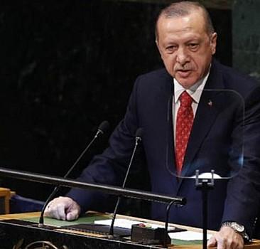 Erdoğan BM'de dünyaya seslendi!