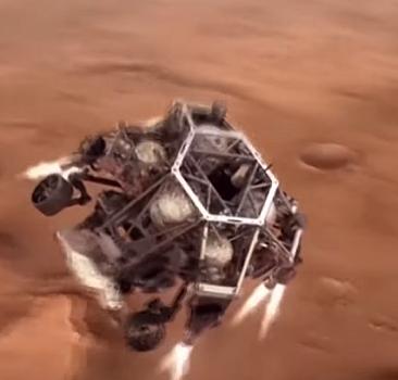 Mars yüzeyinde ilk delik açıldı