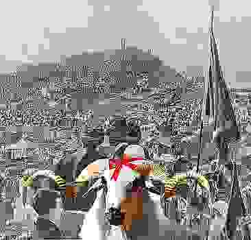 Hac Arafat, Kurban teslimiyettir